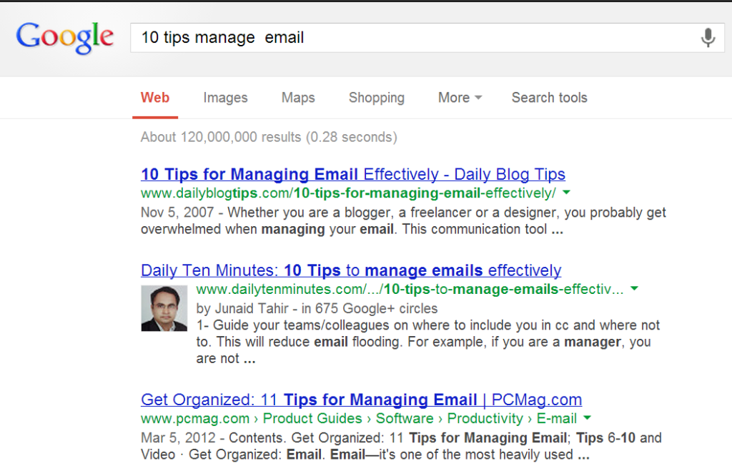 10 tips to manage emails