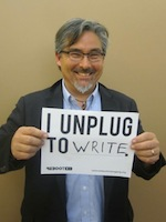 I unplug to write