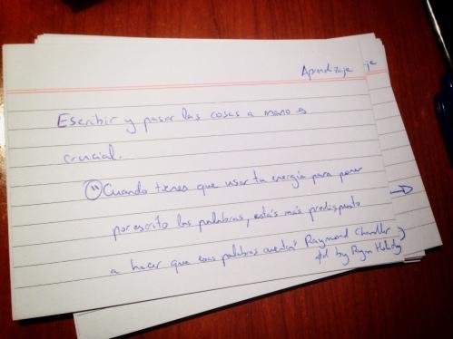 Notas 15x10