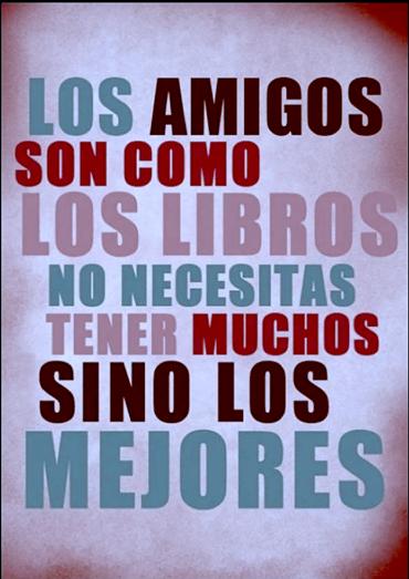 Amigos y libros