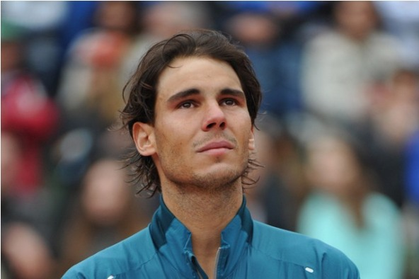Paris, 9/6/ 2013 Rafa NADAL (ESP) reached a record eighth French Open title defeating David FERRER (ESP)  6-3 6-2 6-3  Photo Ray Giubilo