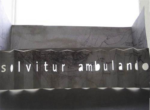 solvitur-ambulando