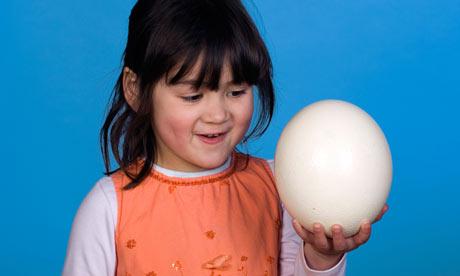 huevo avestruz