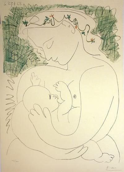 Picasso - maternidad
